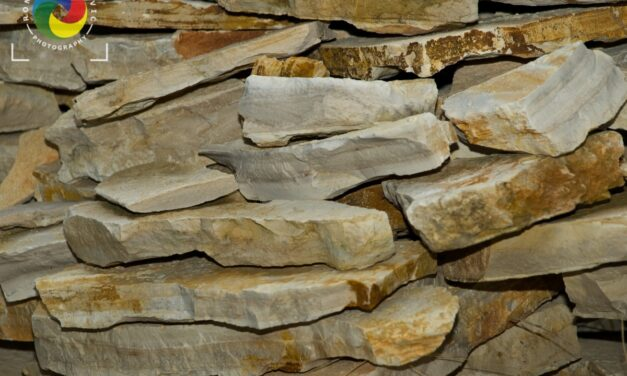 Old stone dry wall